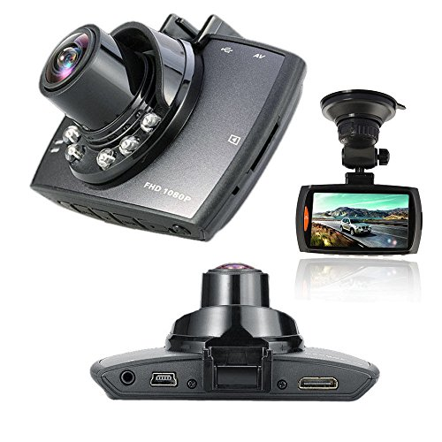 "BEST SHOPPER 1080P 2.7"""" LCD Car Camera Full HD Dash Cam Crash DVR G-Sensor Night Vision HDMI - Black"