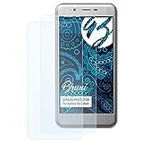 Bruni Schutzfolie kompatibel mit Archos 50 Cobalt Folie, glasklare Bildschirmschutzfolie (2X)
