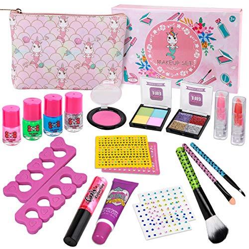 Kids Makeup Kit for Girls - Real Kids Cosmetics Make Up Set...