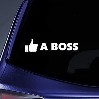 Bargain Max Decals - Like a Boss! Sticker Decal Notebook Car Laptop 8