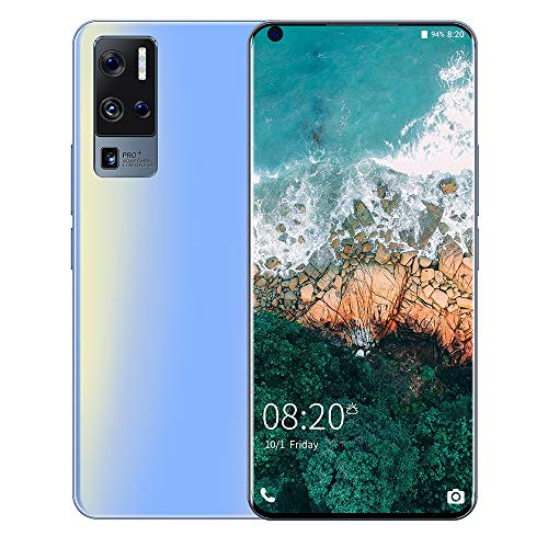 LINGOSHUN X50 Pro+ MTK6580P Quad-Core Smartphone, 32GB Internal Storage, 6.8-Inch Left Perforated Large Screen, 5MP+8MP / C/with 128G TF Card