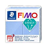 FIMO 8020-386 ST Pasta de modelar, Translúcidoperla Azul