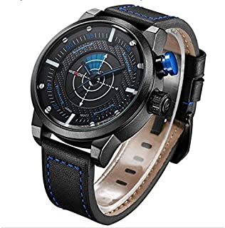 Weide Sport Watch For Men Analog Genuine Leather - WH5201-3C