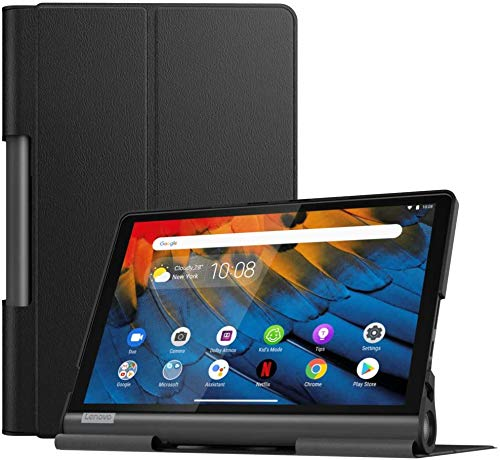 KATUMO Case for Lenovo Yoga Smart Tab 10.1 inch Leather Case for Lenovo Tab YT-X705F Slim Cover Yoga Smart Tab 10 with Stand Function