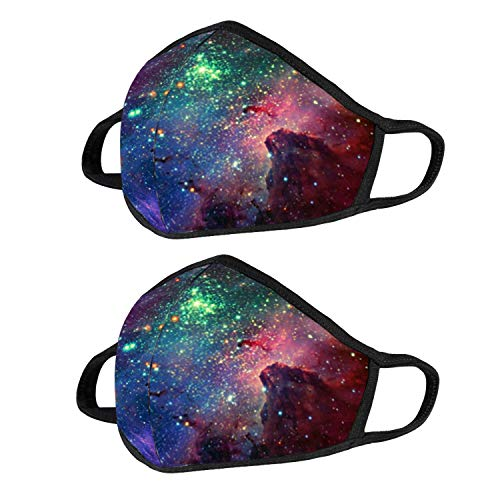 (10% OFF) Reusable Galaxy Face Mask 2 Pack $8.09 – Coupon Code