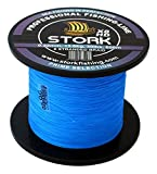 Stork HDx8, 8-hilo trenzado pesca premium 600m (Azul, 40 lbs / 18.1 kg / 0.28 mm)