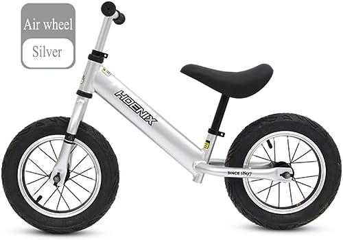 GSDZN - Kinder Laufrad Laufürnrad Kinderrad   Luftrad Eva-Rad   110,2 Lbs Kapazit   Sitz Und Lenker Verstellbar   Alter 2 Bis 6 Jahre
