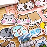 YRBB 41Pcs Creative Cute Kawaii Selbstgemachte Bier Tiere Zoo Scrapbooking Tagebuch/Dekorative...