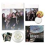 EVERGLOW 2nd Single Album - [ HUSH ] CD + Photobook + Postcards + Photocards + FREE GIFT / K-POP Sealed