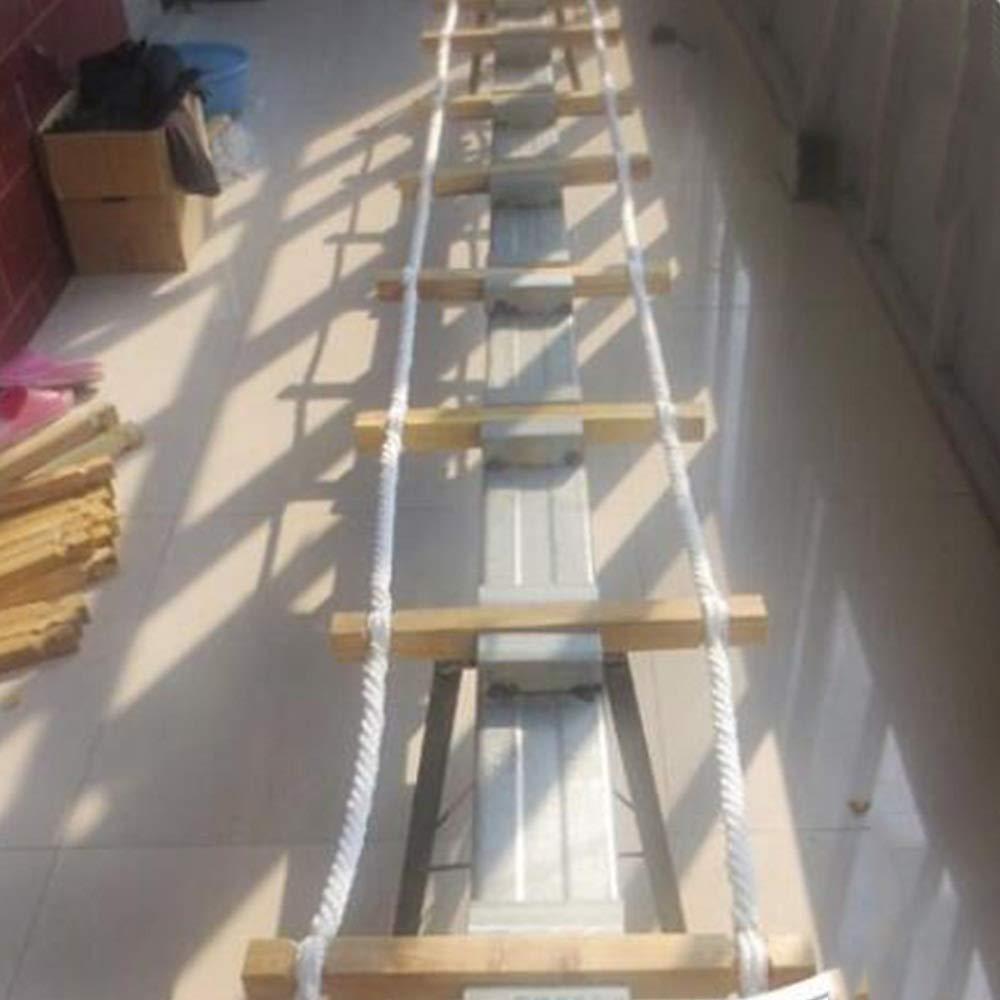 Cuerda Caja de madera Escalera de cuerda espaciamiento 30 / 40cm Longitud 16.4 pies 9.8 pies 49 pies 65 pies Cuerda 32.8ft Diámetro 20 mm (Color : Spacing 40cm, Size : 20m(65ft)): Amazon.es: Bricolaje y herramientas