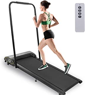 Ltrotted Under-Desk Treadmill with Remote Control & LCD Display, Electric Motorized Pad Flat Treadmills, Jogging Walking Running Cardio Machine, Workout Equipment for Home Gym Office Exercise Fitness