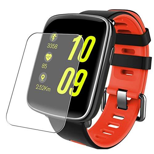 Vaxson 3 Unidades Protector de Pantalla, compatible con Smartwatch smart watch GV68 1.54 [No Vidrio Templado] TPU Película Protectora