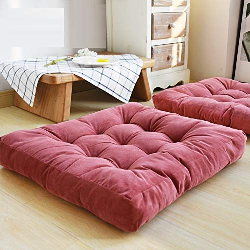 Solid Square Floor Cushion