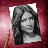 Seasons Lisa Snowdon - ACEO Sketch Card (Signed by The Artist) #js002