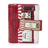 Shagwear Junge Damen Geldbörse Small Purse und Designs (Bakery Red/Bäckerei Rot)