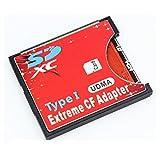 手持ちのSDカードをCFカードTypeIに変換 N/B EXTREME CFアダプター WiFi SD対応 UDMA対応 EXCFAD-SD [並行輸入品]
