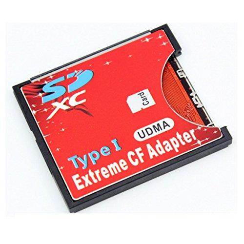 手持ちのSDカードをCFカードTypeIに変換 N/B EXTREME CFアダプター WiFi SD対応 UDMA対応 EXCFAD-SD [並行...