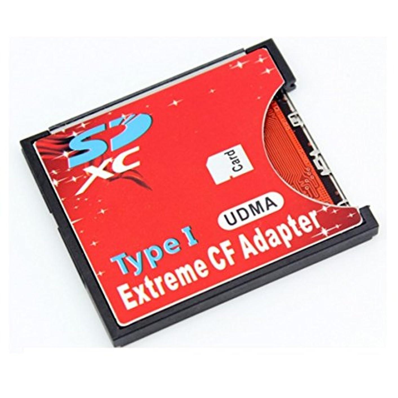 平凡青写真洞察力手持ちのSDカードをCFカードTypeIに変換 N/B EXTREME CFアダプター WiFi SD対応 UDMA対応 EXCFAD-SD