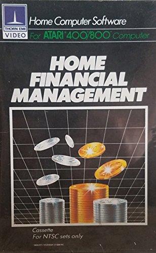 1982 Thorn EMI Video Home Financial Management - Atari 400/800