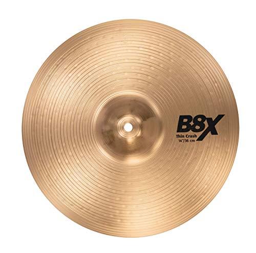 "Sabian B8X 14"" Thin Crash Cymbal"