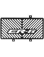 TOOGOO Cubierta de ProteccióN de Rejilla de Radiador de Motocicleta de Acero Inoxidable para Kawasaki Er6N Er-6N Er6F Er-6F 2009-2011 (Negro)