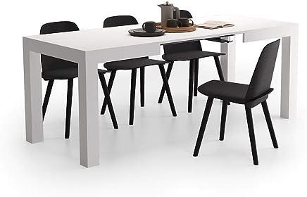 Amazon.it: tavolo allungabile - Bianco: Casa e cucina