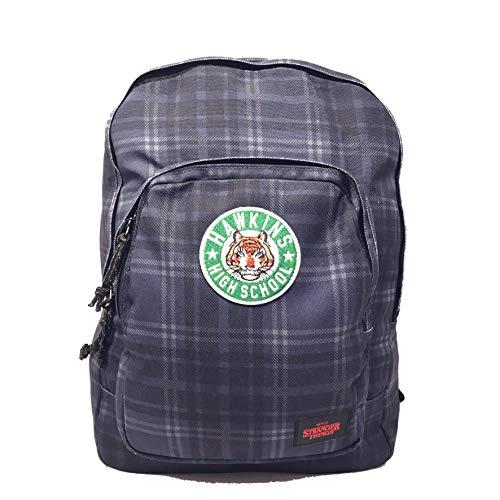 Stranger Things American/College Backpack 2 Wende-Reißverschlüsse - Schule/Freizeit ca. 40 x 27 x 15 cm