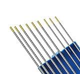 KATTEX - Mix/Set/Kit - Electrodos de tungsteno WL15 Oro (3x Ø 1,6/2,0/2,4 mm)