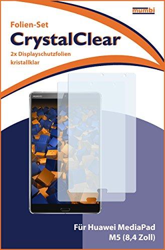 mumbi Schutzfolie kompatibel mit Huawei MediaPad M5 8,4 Zoll Folie klar, Displayschutzfolie (2X) - 3
