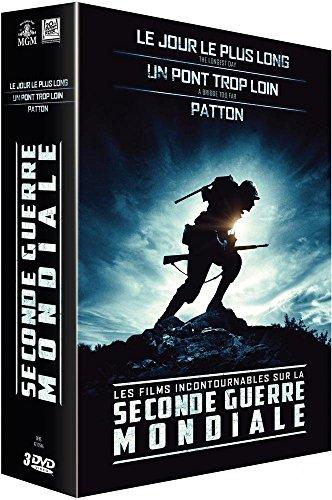 Seconde Guerre Mondiale : Le Jour Le Plus Long + Patton + Un Pont trop Loin