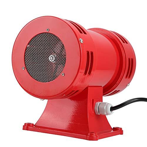 Bocina Altavoz, Sirena zumbador de bocina de Alarma de Tweeter, 150DB Industria Seguridad Sirena accionada por Motor eléctrico Sirena de Alarma Continua(220-240V)