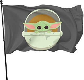 The Child Cute Bassinet Artwork Polyester Flag, Banner Flags