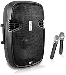 powerful Portable Bluetooth Speaker with Hands-Free Function – 1000 W, Active Outdoor Home Speaker with 12-inch Subwoofer…