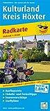 Kulturland Kreis Höxter: Radkarte mit Ausflugszielen, Einkehr- & Freizeittipps, wetterfest, reissfest, abwischbar, GPS-genau. 1:75000 (Radkarte: RK)