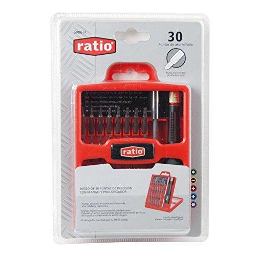 Ratio 6986H - Destornillador Precisión (Juego 32) Ratio