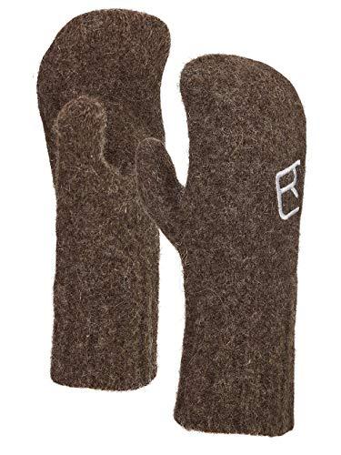 ORTOVOX Swisswool Classic Mitten Handschuhe, Unisex Erwachsene, Black Sheep, XS