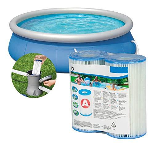 classement un comparer Cartouche filtrante 2 pièces Cordar pour pompe de filtration piscine gonflable – cartouche filtrante…
