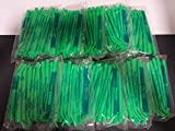SURGICAL ASPIRATOR SUCTION TIPS GREEN CASE OF 250 PIECES 1/4 DENTAL...