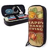 Estuches de lápices con cremallera multiusos suministros de oficina escolar feliz Acción de...