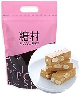 《糖村》太妃牛軋糖(タフィーヌガー)-400g(ジッパーバッグ) 《台湾 お取り寄せ土産》 [並行輸入品]