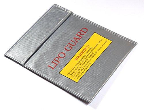 Batería/Lipo funda resistente al fuego de Safe Guard Bag en grande y pequeña de rápido Envío.