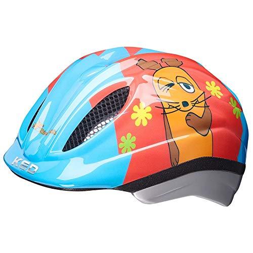 KED Meggy II Originals S Die Maus - 46-51 cm - inkl. RennMaxe Sicherheitsband - Fahrradhelm Skaterhelm MTB BMX Kinder Jugendliche