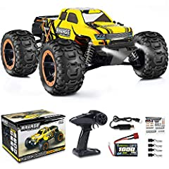【BRUSHLESS & HIGH SPEED 55+KM/H】: The RC Car equipped with the powerful brushless motor, which made the speed and lifetime of this sandy truck will be greatly increased, and the max speed is up to 55+km/h. It also makes the car race faster than other...