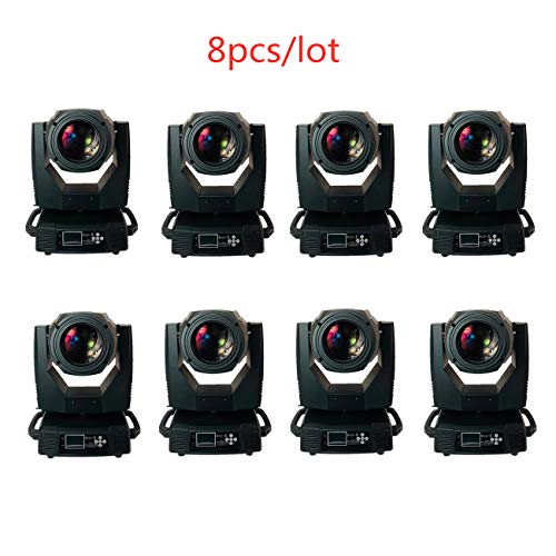 JSHEN 350watt 3in1 Spot/Wash/Beam Moving head light for Professional Stage DJ party wendding (8PCS)