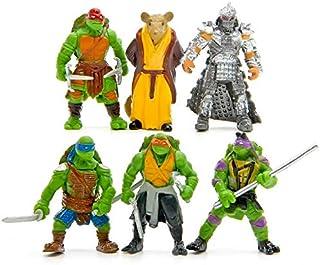6Pcs Tmnt Teenage Mutant Ninja Turtles Figure Action Toy Set