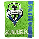 Northwest The Company MLS Blast Lightweight Fleece Throw Blanket 50' x 60' (Seattle Sounders)