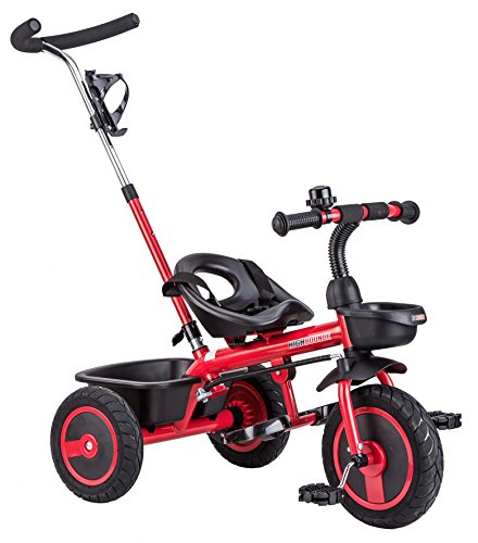 High Bounce Extra Tall Tricycle (Red)