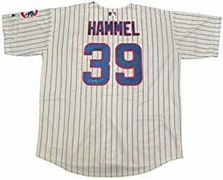 Jason Hammel Autographed Chicago Cubs Jersey W/PROOF, Picture of Jason Signing For Us, Jason Hammel
