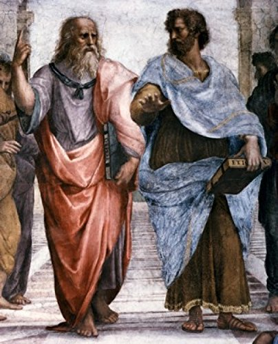 Posterazzi School of Athens (Detail) 1509-1510 Raphael (1483-1520/Italian) Fresco Vatican Museums and Galleries Poster Print, (18 x 24)