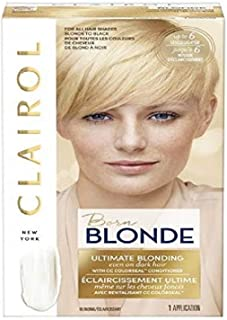 Clairol Nice'n Easy Borne Blonde Permanent Hair Color, Ultimate Blonding, 1 Count